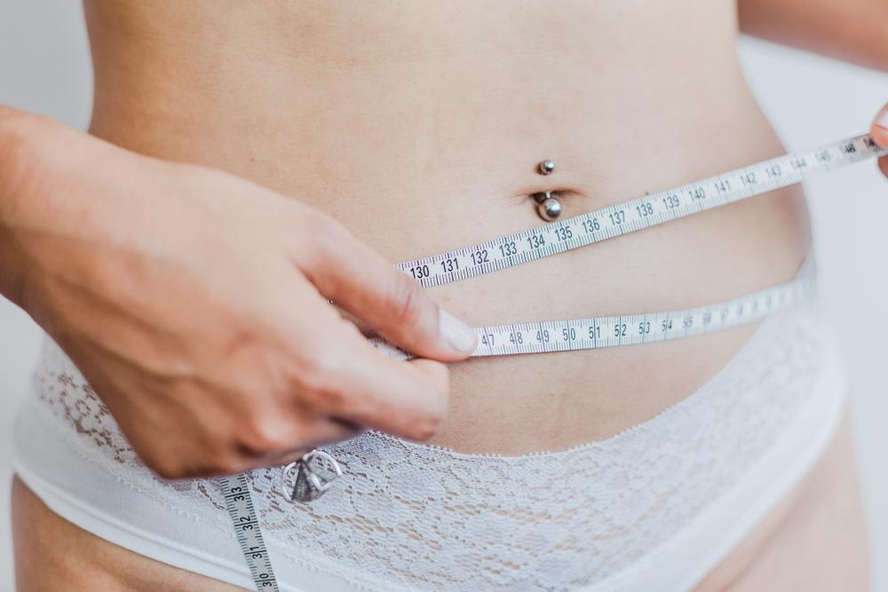 Gordura localizada na barriga