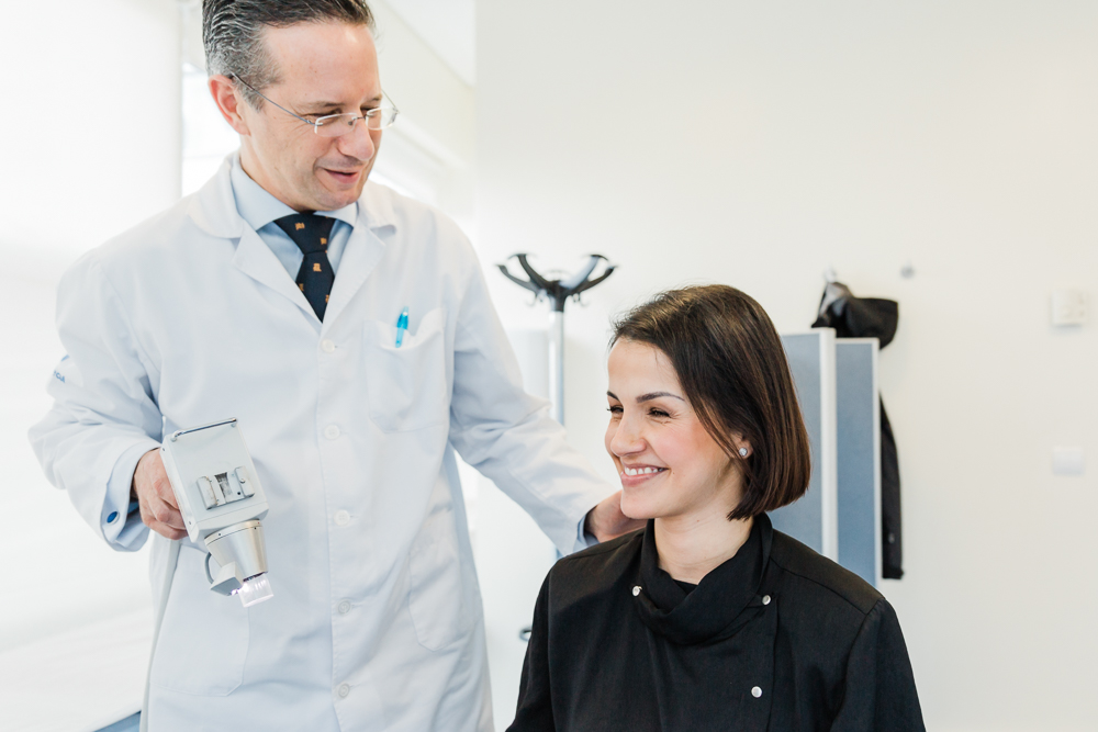 O que é um médico do cabelo?