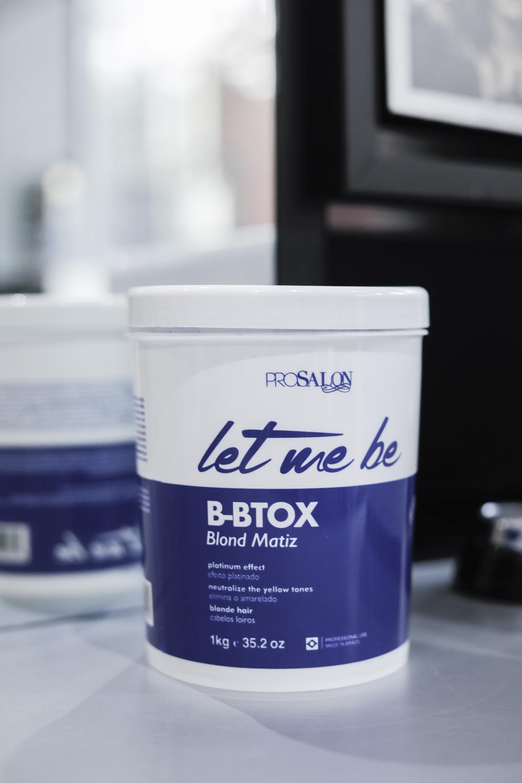 let me be b-btox botox capilar